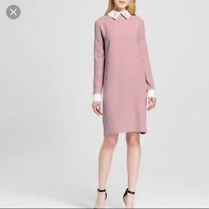 Pink and White Victoria Beckham Bunny Dress